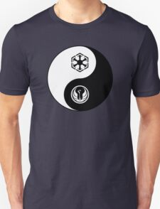Ying and Yang, The Republic and the Empire Unisex T-Shirt