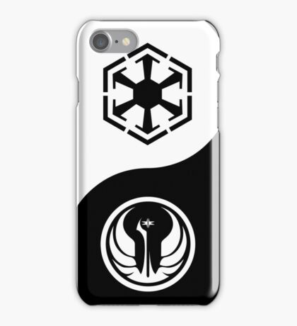 Ying and Yang, The Republic and the Empire iPhone Case/Skin