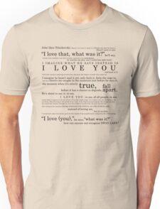 Swan Lake (ivyblossom) Unisex T-Shirt