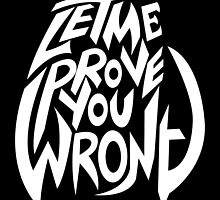 Let Me Prove You Wrong by Explicit Designs