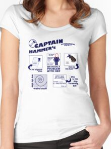 Captain Hammer's Appreciation Society Women's Fitted Scoop T-Shirt