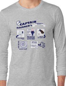 Captain Hammer's Appreciation Society Long Sleeve T-Shirt