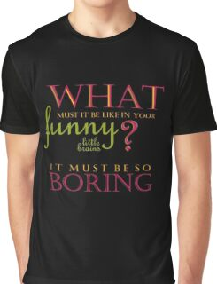 Funny Little Brains Graphic T-Shirt