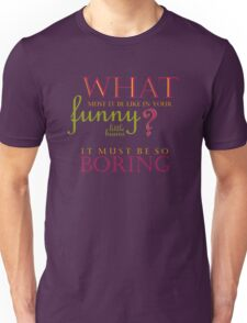 Funny Little Brains Unisex T-Shirt