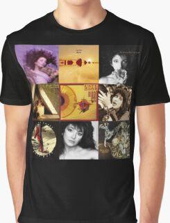 Kate Bush Album Compilation Graphic T-Shirt