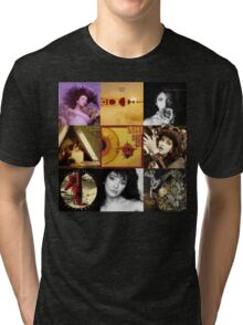 Kate Bush Album Compilation Tri-blend T-Shirt