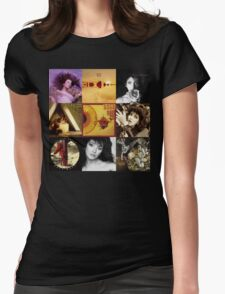 Kate Bush Album Compilation Womens Fitted T-Shirt