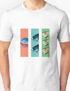 Three Flavours Cornetto Trilogy Unisex T-Shirt