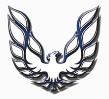 White & Blue Firebird by Mikeb10462