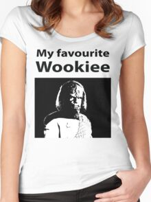 My favourite Wookiee Women's Fitted Scoop T-Shirt