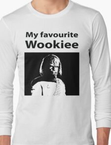 My favourite Wookiee Long Sleeve T-Shirt