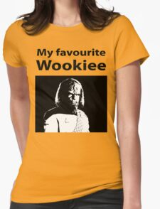 My favourite Wookiee Womens Fitted T-Shirt