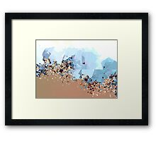 Broken Color Framed Print