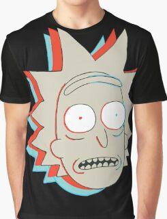 Rick and Morty: 3D Rick Graphic T-Shirt