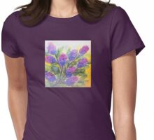 Lilac Womens Fitted T-Shirt