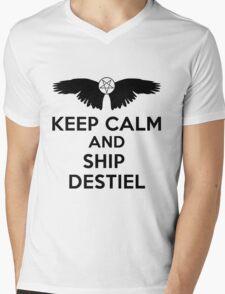 Ship Destiel Mens V-Neck T-Shirt