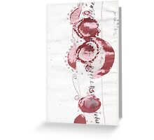 Cool Flowers Design Pattern Cute Simple Greeting Card