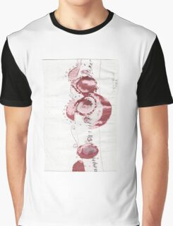Cool Flowers Design Pattern Cute Simple Graphic T-Shirt