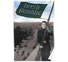 Eamon Bulfin and the Raising of the Flag Poster