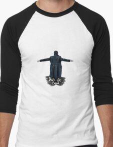 Don't Be Dead [light] Men's Baseball ¾ T-Shirt