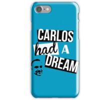 Carlos Had A Dream - Blue iPhone Case/Skin