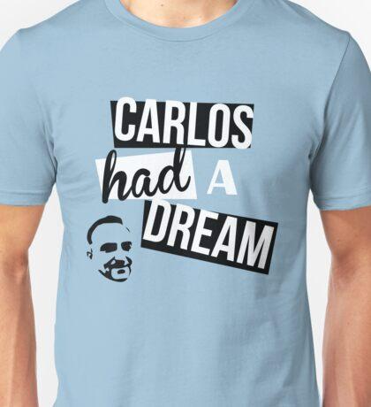 Carlos Had A Dream - Blue Unisex T-Shirt