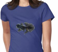 bug-eyed goldfish Womens Fitted T-Shirt