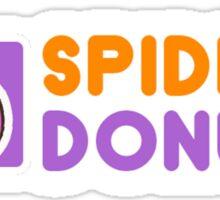 Spider Donuts Sticker