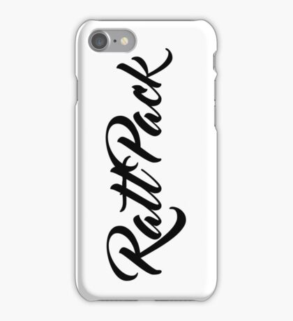 RATTPACK I iPhone Case/Skin