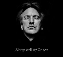 RIP - Alan Rickman - Sleep well my Prince 2 by Clarice82