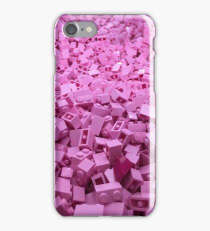 Pink legos iPhone Case/Skin