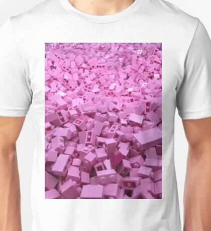 Pink legos Unisex T-Shirt