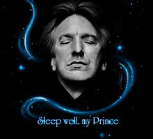 RIP - Alan Rickman - Sleep well my Prince by Clarice82