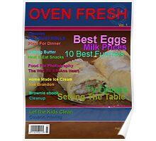 Moms Baking Magazine Poster