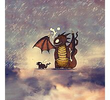 Dragons in the rain Photographic Print