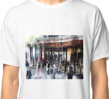 Busy Sidewalk Classic T-Shirt