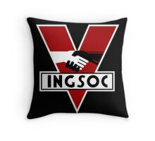 INGSOC Throw Pillow