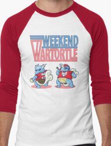 Weekend Wartortle (Pokemon) Men's Baseball ¾ T-Shirt