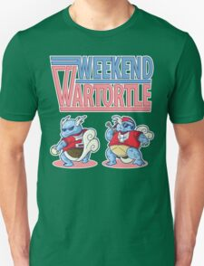 Weekend Wartortle (Pokemon) Unisex T-Shirt