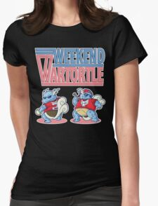 Weekend Wartortle (Pokemon) Womens Fitted T-Shirt