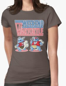 Weekend Wartortle (Pokemon) Womens Fitted T-Shirt