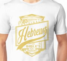 The Original Hebrews   The Bible's Our History Unisex T-Shirt