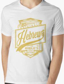 The Original Hebrews   The Bible's Our History Mens V-Neck T-Shirt