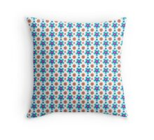 Sunny Flowers- Flower Pattern Throw Pillow