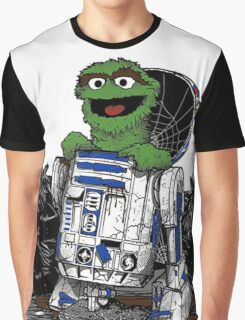 Oscar Droid Graphic T-Shirt
