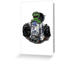 Oscar Droid Greeting Card