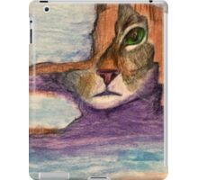 Kitten Under Broken Door iPad Case/Skin