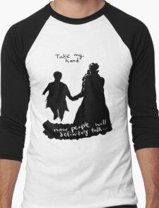 Take My Hand Men's Baseball ¾ T-Shirt