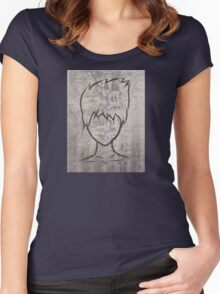 Faceless guy Women's Fitted Scoop T-Shirt