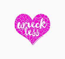 """""""Wreck Less Heart"""" HOTPINK Logo Women's Relaxed Fit T-Shirt"""